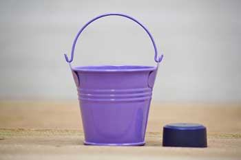Mini Purple Bucket