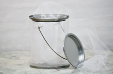 Clear Paint Can Gift Pail image 1