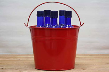 Color Metal Buckets Color Metal Pails Bucket Outlet
