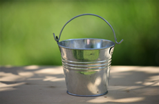 metal craft mini bucket