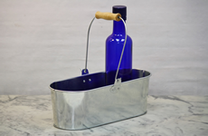 Mini Metal Garden Tub with Bail Handle