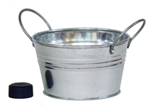 mini pail with side handles