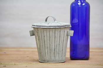 Vintage Mini Garbage Pail